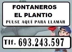 Fontaneros El Plantio Madrid Urgentes