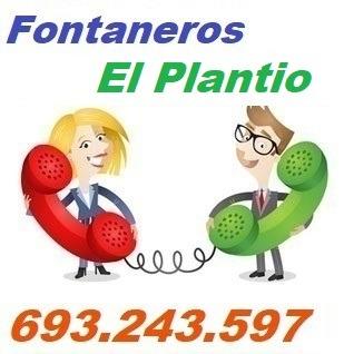 Telefono de la empresa fontaneros El Plantio