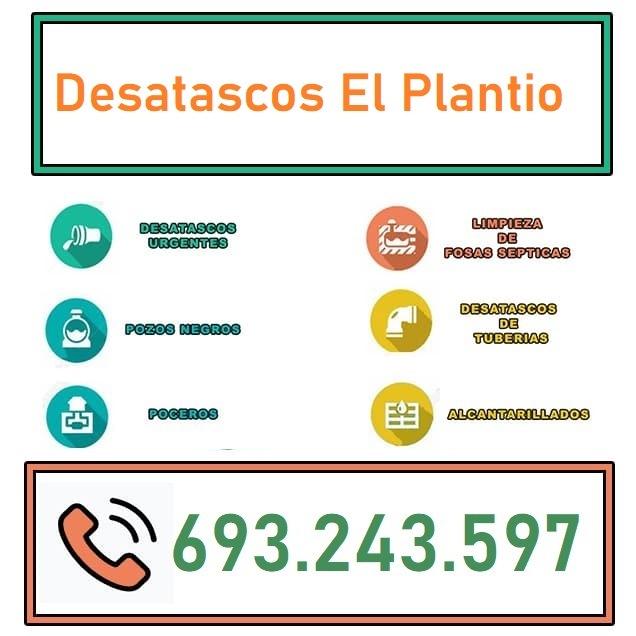 Desatascos El Plantio